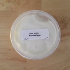 Raw Buffalo Butter – 1/2 lb – NO SALT