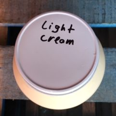 Light Cream – Glass