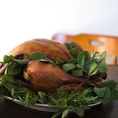Whole Smoked Turkey – per lb