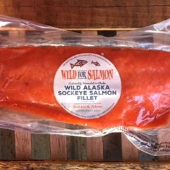 Whole Salmon Fillet – LARGE – 2 lb Avg – frozen – per lb
