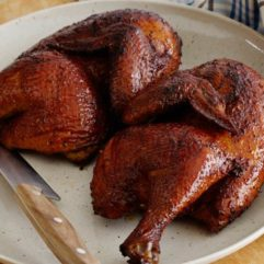 1/2 Smoked Chicken Fryer – 2-3 lb Avg – per lb