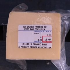 Farmers Cheese – A2/A2 – Salted – per lb